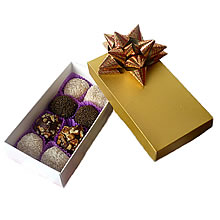 Corporate gifts in chocolate, corporate gifts, Lima chocolates, lima chocolate business gifts, chocolate truffle box, dulce obsesion