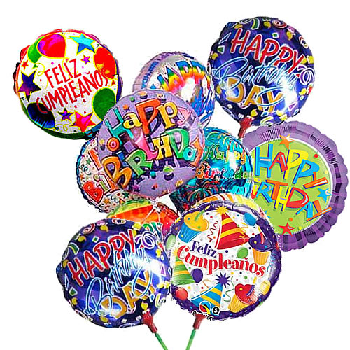 Lime metal balloons, lime helium balloons, happy birthday helium lime balloons, happy birthday lime balloons peru