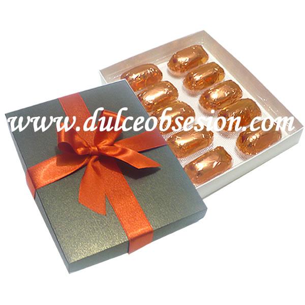 caja con chocotejas premiun