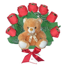 gifts for lovers, gifts for women, gifts for them, chocolate truffles for mom, gift mother's day, chocolates for mom, sweet obsession, teddies and chocolates for her, arrangements with chocolate flowers, chocolate roses for her, delivery in Lima