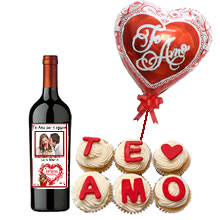 Gifts for lovers in Lima, delivery of gifts in Lima, personalized Wine for Anniversary, anniversary gift in Lima