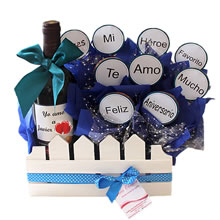 Gifts with chocolate, delivery of gifts in Lima peru, gifts for father's day, anniversary gifts, personalized gifts in Lima, personalized wine, gifts for lovers, gifts for men in Lima