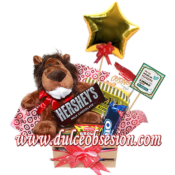 gift shop in Lima, gift delivery in Lima, gift for them Lima, teddy and chocolates for them, gift for men in Lima, plush lion and chocolates, gifts for dad, gift for boyfriend in Lima