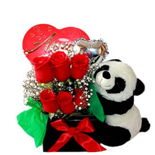 delivery of floral arrangements, roses for gift, panda for gift, delivery of roses at home, gifts for birthdays, gifts for lovers, roses for mother's day, roses for women's day, anniversary gifts with roses, gifts with roses in Lima Peru