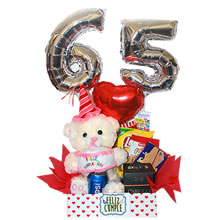 birthday gift, gifts for women, gifts for lovers, birthday gifts with number balloons, delivery of birthday gifts, delivery of gifts in Lima peru, musical plush, gift with balloons for birthdays, anniversary gift