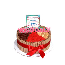 Chocolate cake in lime, cake for lovers in Lima, cake delivery, gifts in Peru, delivery in Lima, delivery of chocolate cakes, delivery of cakes for lovers