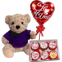 delivery of gifts for anniversary, gifts for lovers, cupcakes of lovers, personalized cupcakes, stuffed animals with gifts for gifts, gifts in Lima, peru gifts, gifts for valentines, day of the mother peru, gifts for woman lima