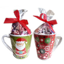 Christmas corporate gifts, cups with candy for gift, Christmas cups with chocolates, business Christmas gifts, Christmas gifts for businesses, Christmas gifts lima peru, delivery of Christmas gifts