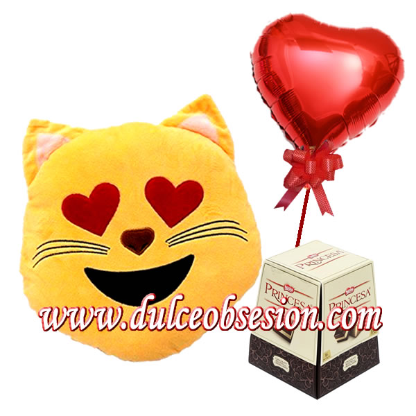 gifts for lovers, lima anniversary gift, gift cushions, gift baskets, gifts for lovers in Lima, love details, Valentine gifts, emogi cushions in love