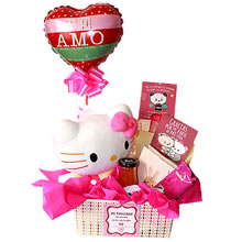 Stuffed gifts Hello kitty, gifts for women, gifts for mother's day, delivery of gifts, gifts for lovers in Lima, gifts in Peru, delivery of gifts in Lima peru, chocolate hello kitty palettes, gifts for them, plush and chocolate for them
