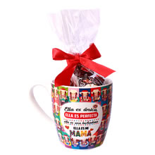 corporate cups for Mother's Day, cups with designs for mom, cups with candy for gift, cups with chocolates for gift, business gifts for mother's day, economic gifts for mother's day, lima gifts Peru, cups for mother's day