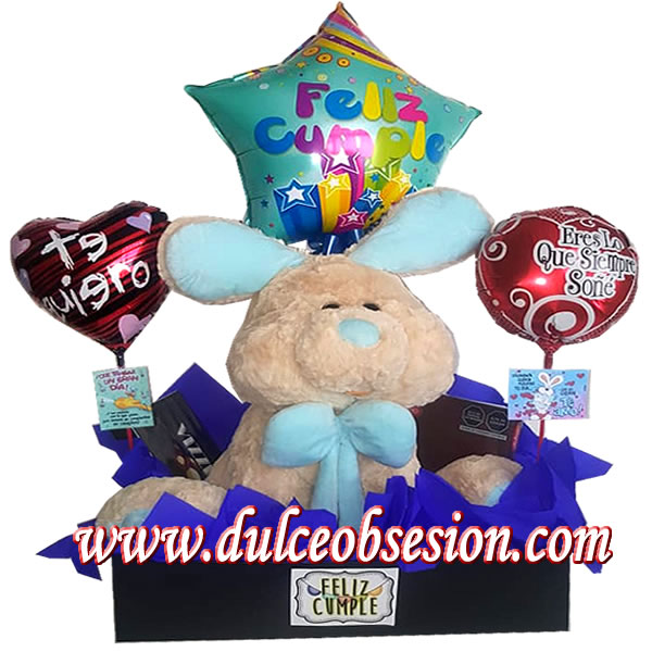 gifts for lovers, gift for lime anniversary, stuffed rabbit for gift, gift baskets, gifts for lovers in lima, love details, Valentine's gifts, large stuffed animals for gift, gift details, birthday gifts
