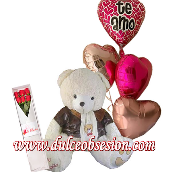 gifts with balloons and stuffed animals, gifts for lovers in Lima, delivery of gifts in Lima, delivery gift for lovers, gifts for birthdays, gifts at home, gifts in Lima, stuffed animals and balloons for delivery, large teddies for gifts, stuffed animals and chocolates in lime