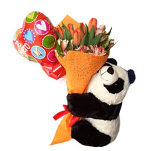 tulips for gift, delivery of tulips, bouquets of tulips, tulips in Lima Peru, bouquet of tulips with stuffed animals, tulips for lovers, delivery of tulips, shipping of tulips